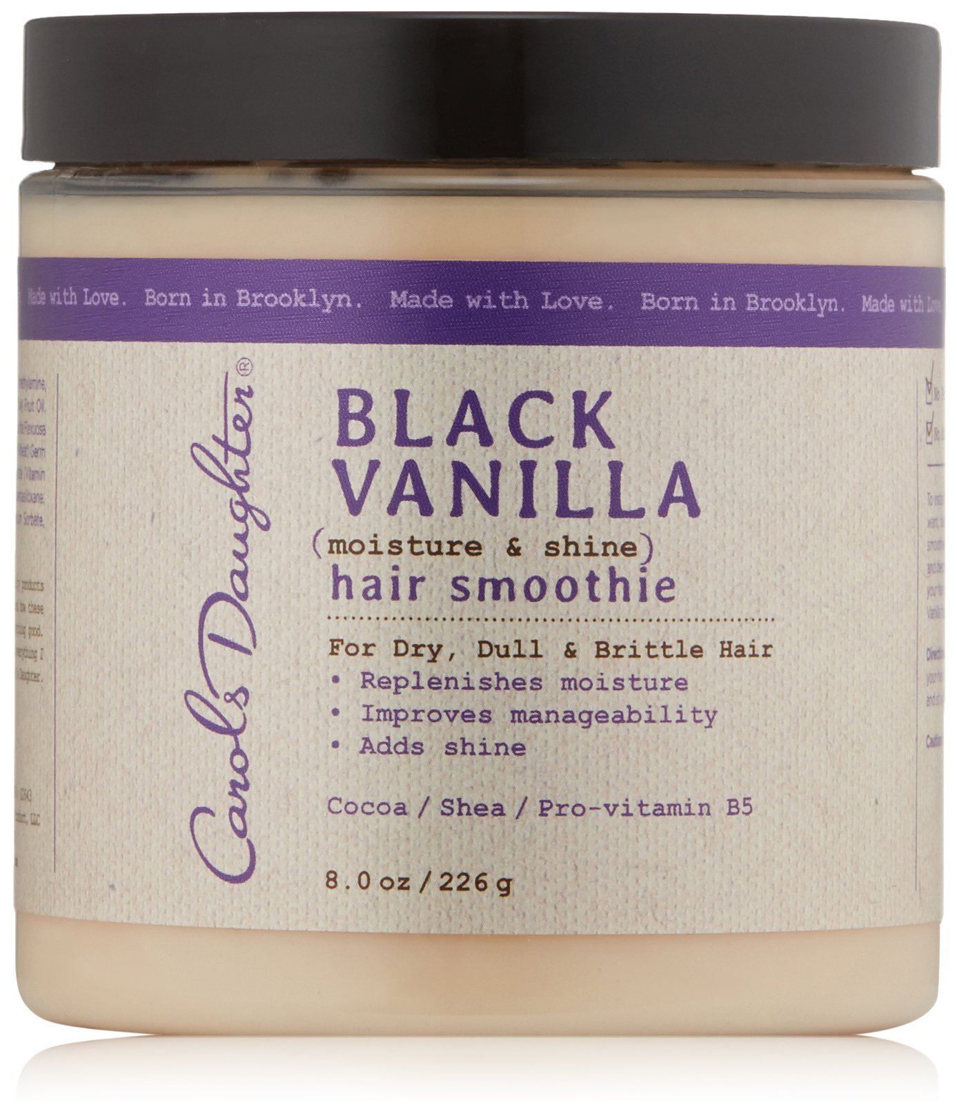 Carol's Daughter Black Vanilla Hair Smoothie, 8 oz (Packaging May Vary)