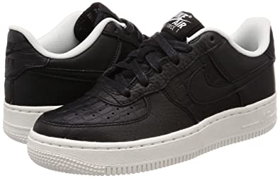 low priced 2a24c db686 Nike Unisex Kids  Air Force 1 Lv8 (gs) Low-Top Sneakers, Black-Summit White  012, 6 UK  Amazon.co.uk  Shoes   Bags