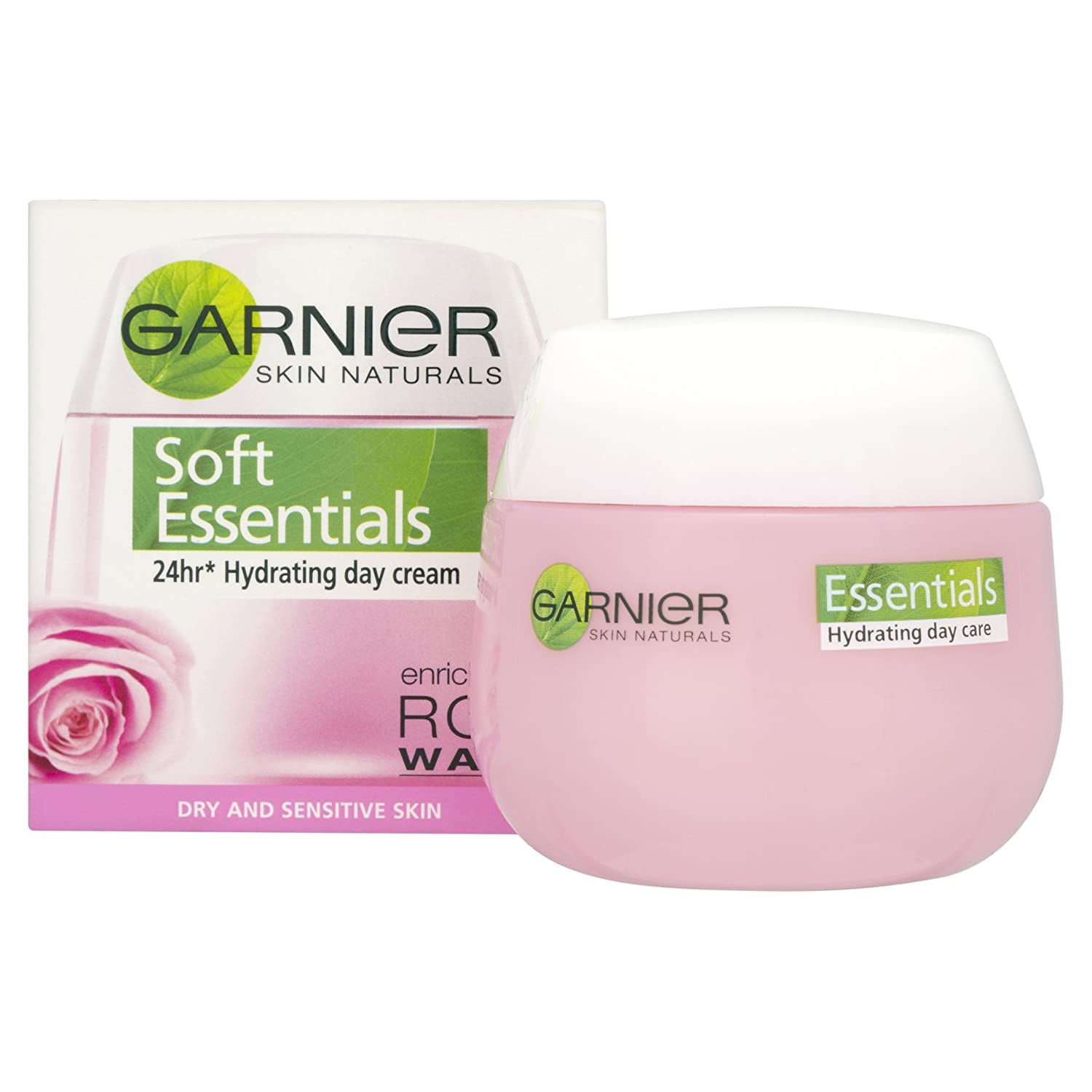 Garnier Soft Essentials Day Cream Enriched with Rose Water, 50ml L' Oreal 102298792