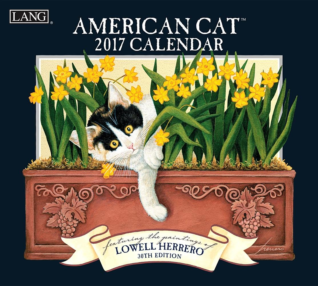 American Cat 2017 Calendar (Deluxe Wall)
