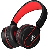 Artix Bluetooth Wireless Headphones | Lightweight and Foldable On Ear Earphones NRGSound RS7 | For Work, Travel, Sport, Running | 3.5mm Cable Included for Wired Use Great for Kids/Teens/Adults - Black