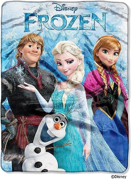 80x60 inch 60x50 inch // Frozen 2 Anna And Elsa Blanket // 40X30 inch
