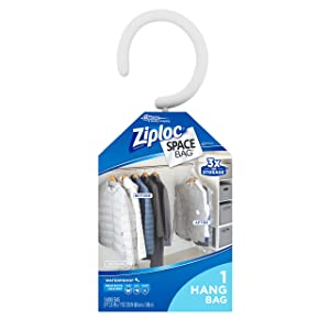 Ziploc Hanging Suit Bag