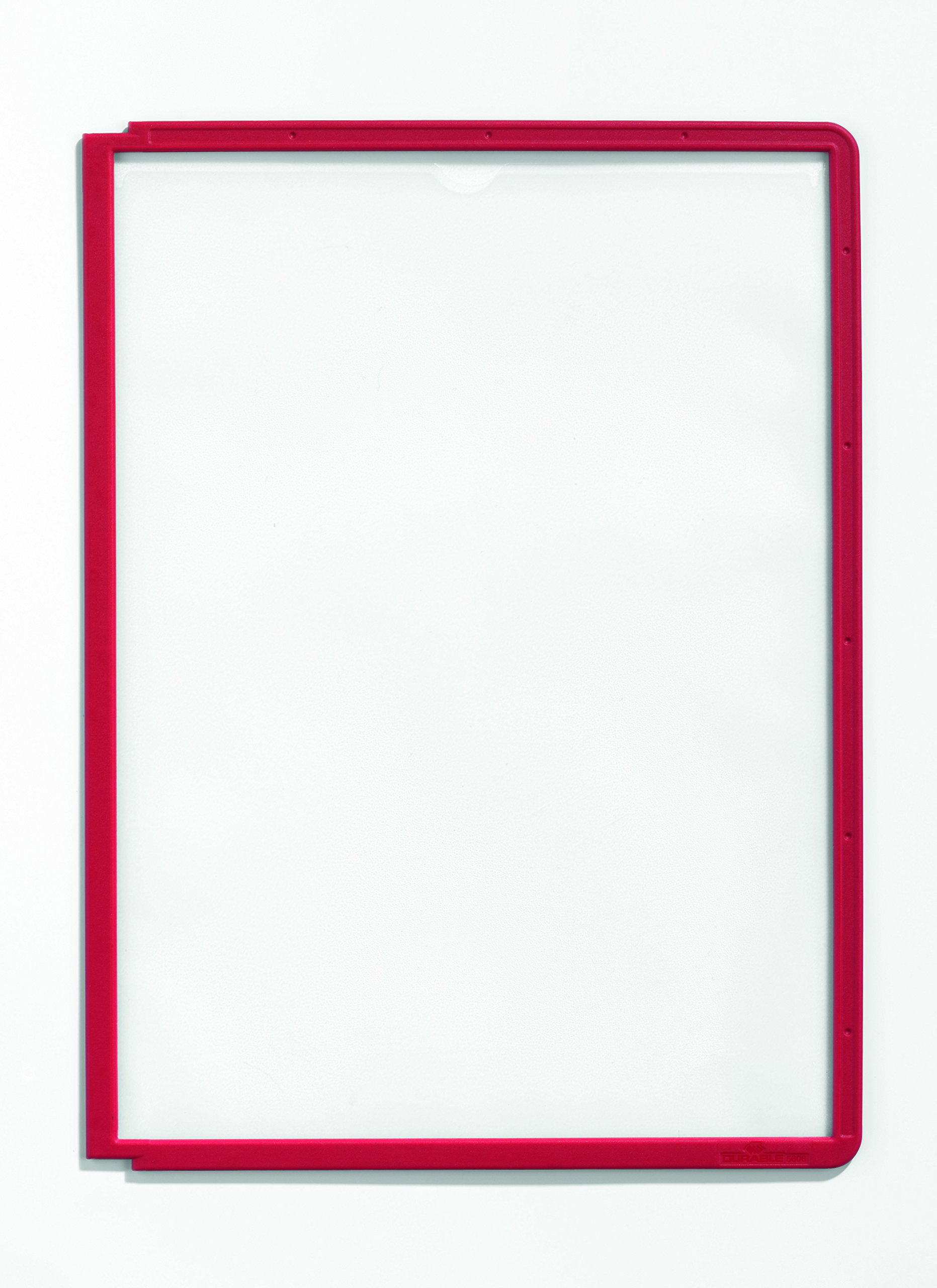 DURABLE SHERPA Replacement Panels, Red, 5-Pack (566603)