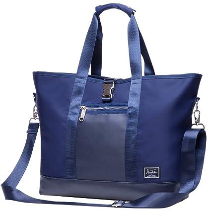 Sac à main Cabas 44 cm Foncé Bleu | Rayon d'or bagages