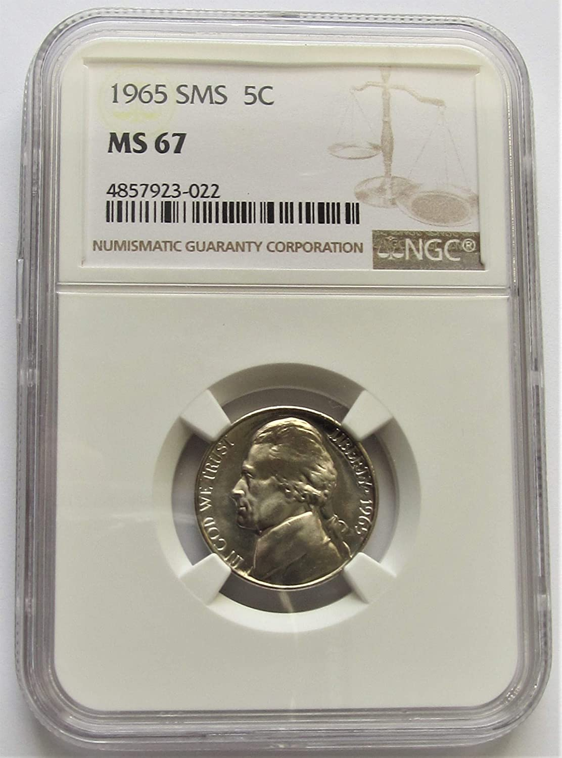 2005P CANADA FIFTY CENTS MS-67 NGC