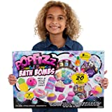 Pop Fizz Scented Surprise DIY Bath Bombs Kit by Horizon Group USA, Create 20 Sweet Treats Scented Colorful Bath Bombs…