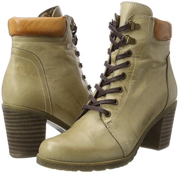 Andrea Conti 1674545, Botas para Mujer, Marrón (Taupe/kombiniert 126), 40 EU: Amazon.es: Zapatos y complementos