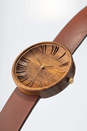 Ovi Watch - Mens Wooden Wristwatch - Handmade of Sustainable and Ethical Materials