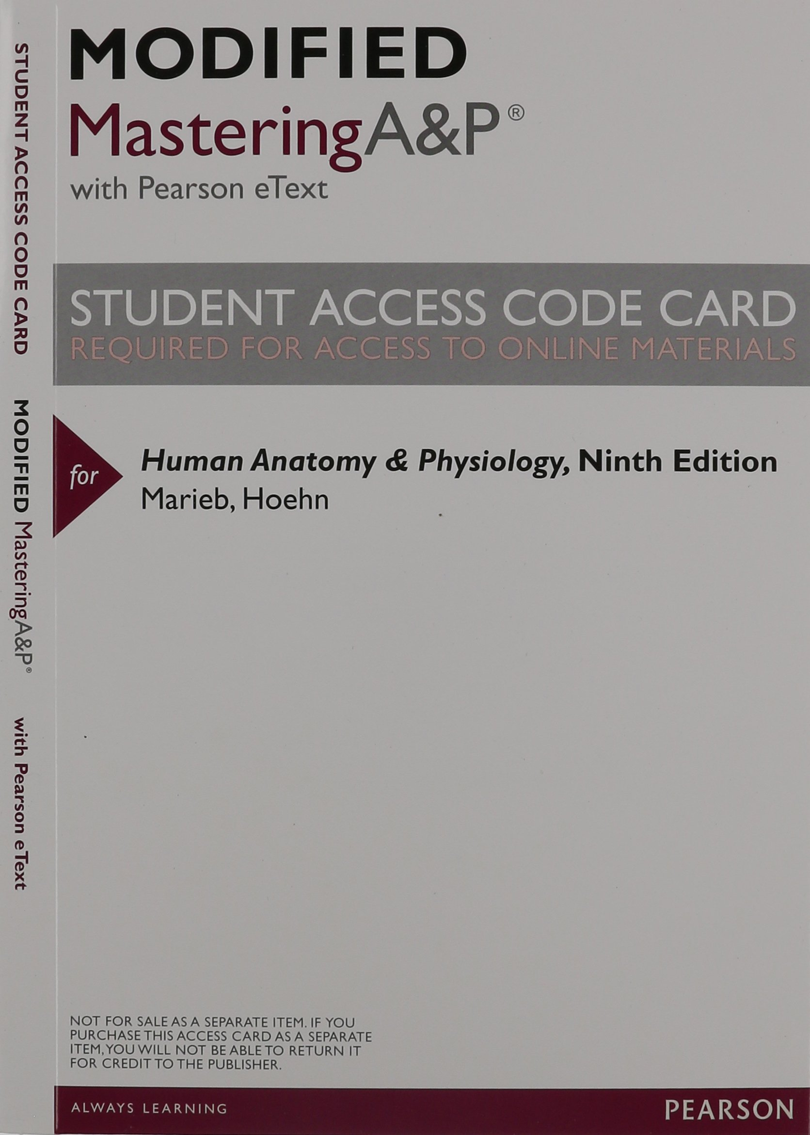 Human Anatomy & Physiology: Amazon.co.uk: Elaine Nicpon Marieb ...