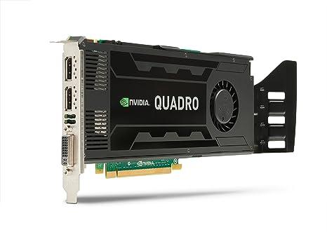 HP C2J94AA - Tarjeta gráfica (NVIDIA Quadro K4000, 3 GB ...