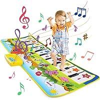 LEADSTAR Alfombra Musical, Juguetes para Niños de 2 3 4 5 Años, Alfombra de Baile, 8 Instrumentos Suenan Alfombra Piano…
