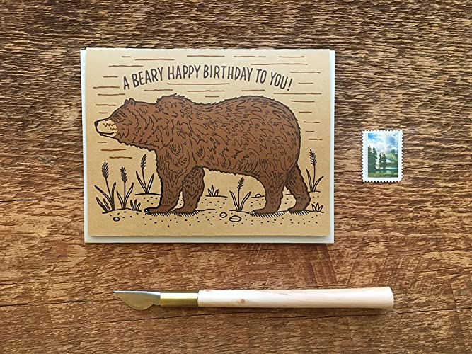 Amazon A Beary Happy Birthday To You Grizzly Bear Birthday