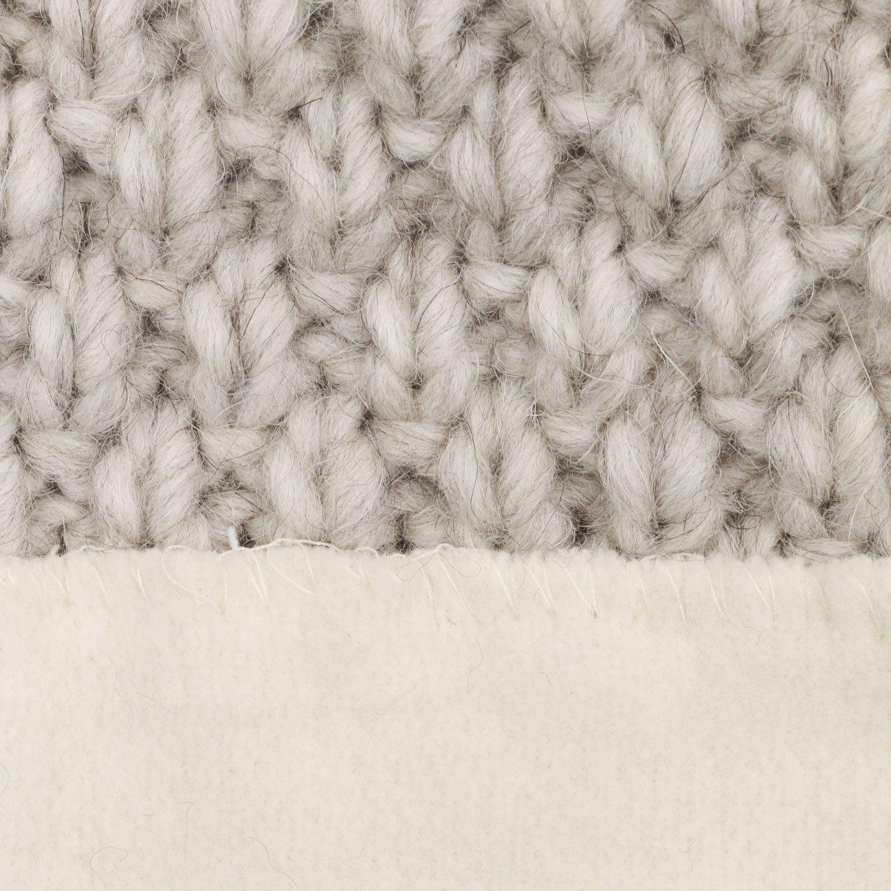 Oversize-Beanie Herbst//Winter | Winterm/ütze mit Alpakawolle und Schurwolle Wollm/ütze Made in Germany Lierys Pinea Strickm/ütze mit Fleecefutter Damen//Herren