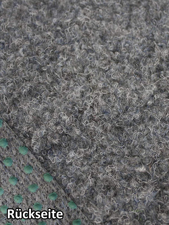 verschiedene Gr/ö/ßen 200x500 cm Rasenteppich Kunstrasen Premium grau Velours Weich Meterware wasserdurchl/ässig mit Drainage-Noppen