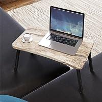 Renkli Laptop Sehpası Katlanabilir Yatak Koltuk Üstü Kahvaltı Bilgisayar Sehpası Beyaz Mermer