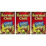 Hormel Turkey Chili, No Beans, 15 oz, 3 pk