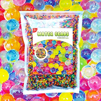 Meland Water Beads - 50000 Orbeez Beads for Orbeez Spa Refill, Vase on amazon wallets, amazon wine decanter, amazon garden stools, amazon frames,