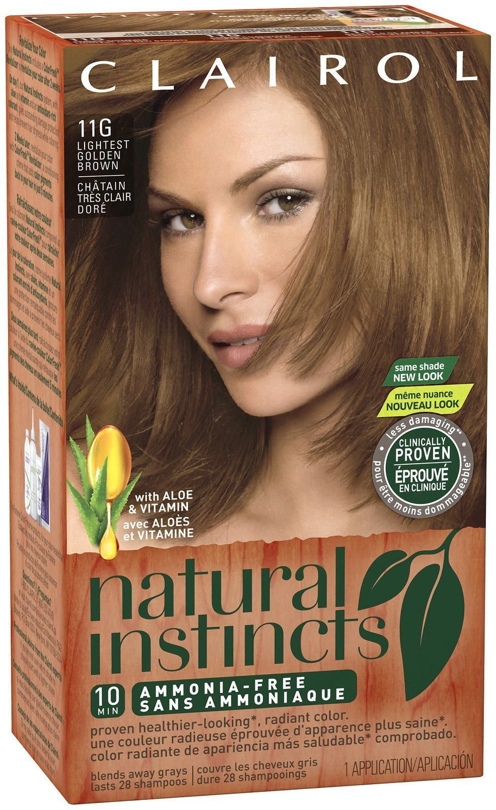 Amazon.com: Clairol Natural Instincts, 7G / 9G Golden