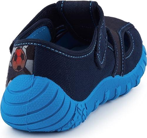 Ladeheid Chaussure Fermeture /à Scratch Basket Gar/çon LAVI0002