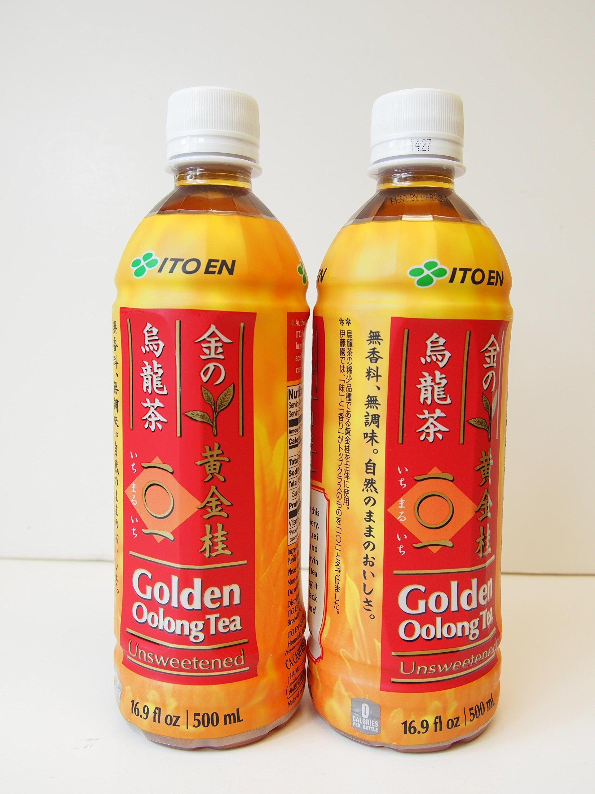 Ito En Unsweetened Golden Oolong Tea 500ml (2-Pack)