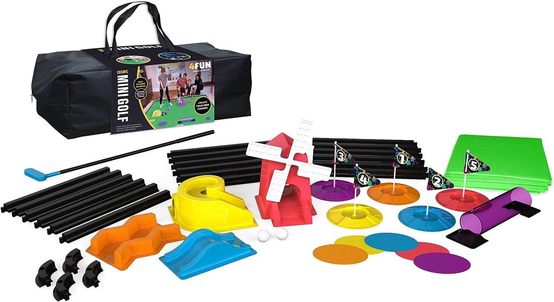 4 Fun Cosmic Mini Golf - 5 Hole Set (Deluxe)