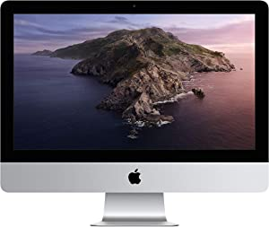 "Apple 21.5"" iMac with Retina 4K display, 3.6 GHz Intel Core i3 Quad-Core,8GB RAM, 1TB - Silver"