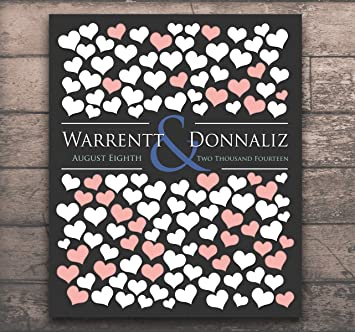 20x24 Wedding Guestbook Engagement Gift Poster Interactive Art Print
