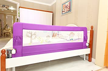 Kiddale Bedrail Foldable Safety Guard To Protect Baby
