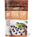 AiPeazy - Instant Hot Cereal - Cinnamon Raisin with Tigernut Flour - Non-GMO - No Gluten, Soy, Eggs, Grains, Dairy, Nuts, or Seeds - Gluten Free, Paleo, Vegan, and Aip Diets - 10.1 Ounce Package