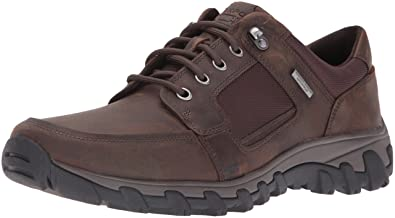 Rockport Men's Cold Springs Plus Lace To Toe Walking Shoe- Dark Brown-6.5 W