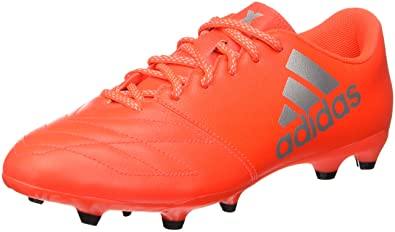 half off 0895c 4e8b1 adidas X 16.3 Fg Leather, Entraînement de football homme, Multicolore -  Multicolore (Solred