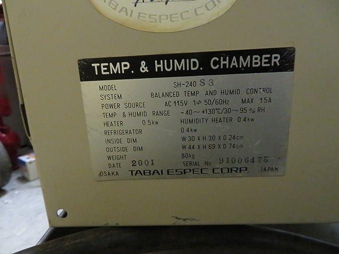 Espec sh-241 temperature humidity chamber #59863 youtube.