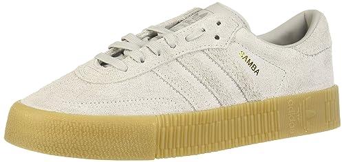 Adidas Originals Womens Samba Low Rise Suede Platform ...
