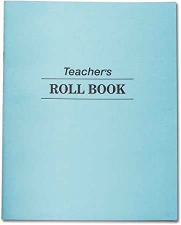 amazon com teachers roll book class record 48 double sided