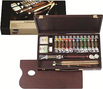 Royal Talens 1840003 Rembrandt - Caja de pintura profesional: Amazon.es: Bricolaje y herramientas