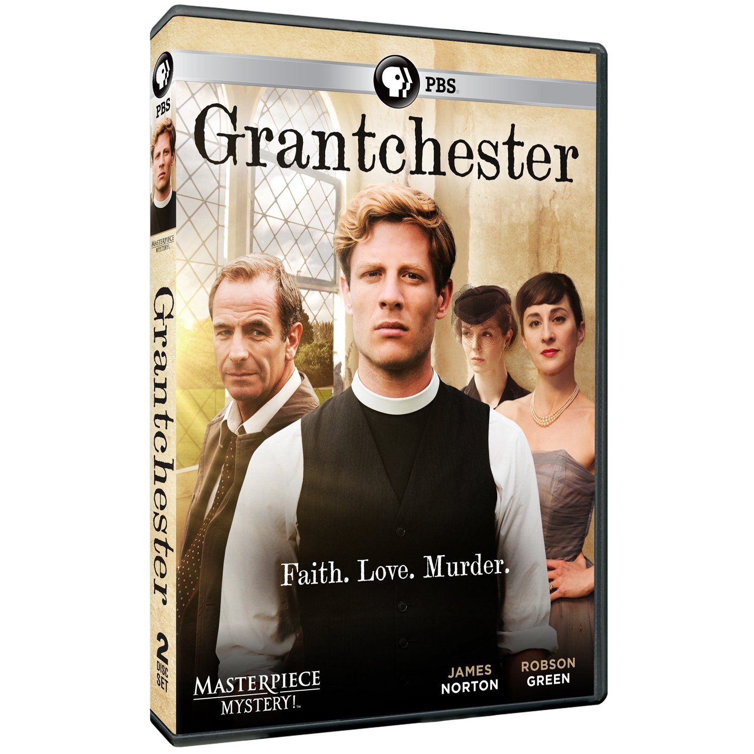 Amazon.com: Masterpiece Mystery: Grantchester: Robson Green James ...