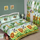 Jungle-Tastic Double Duvet Cover and Pillowcase Set