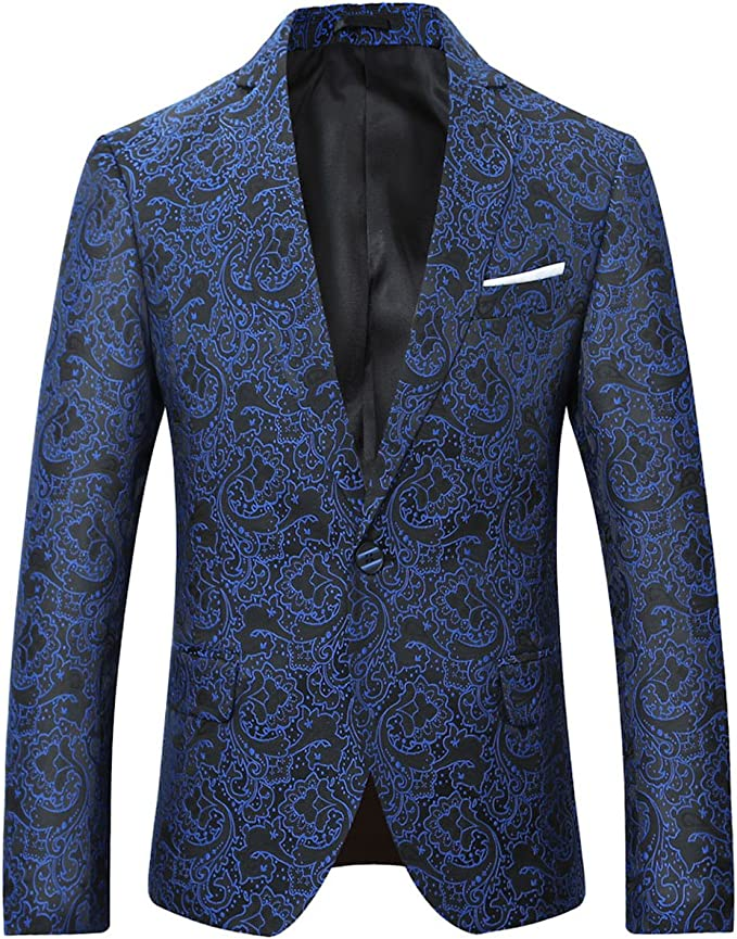 Amazon.com: cloudstyle traje formal Hombre Slim Fit cena ...