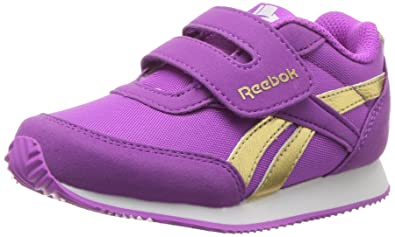 e58eeb6056e7f5 Reebok Baby Royal Cljog 2RS KC Sneaker Vicious Violet Gold 3 Child US  Toddler