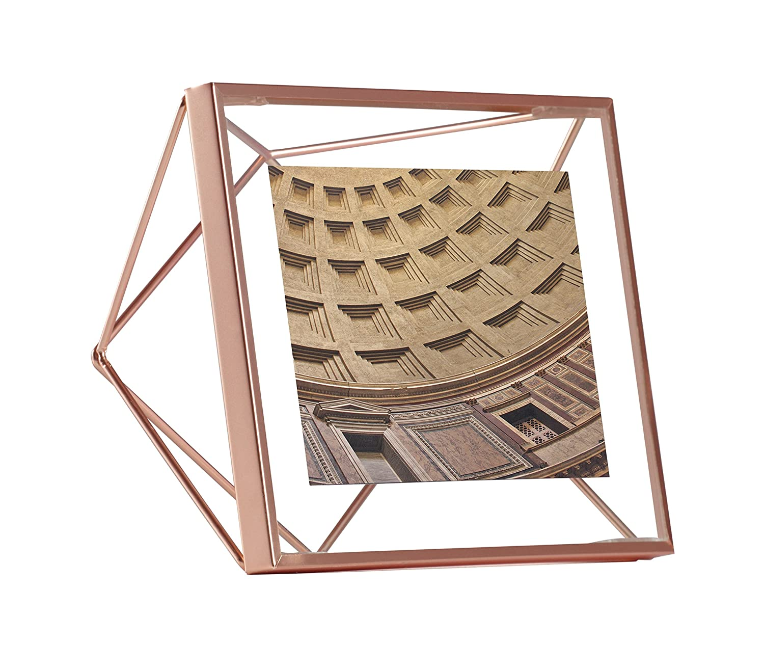 Amazon umbra prisma picture frame 4 by 4 inch copper jeuxipadfo Gallery