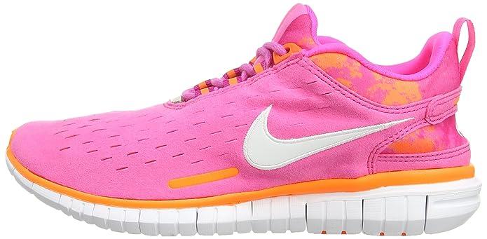 Nike Free Og '14, Rosa Pink (Pink Pow/White/Fireberry/Total Orange) 37.5:  Amazon.it: Scarpe e borse