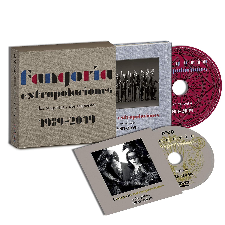 Fangoria Extrapolaciones Y Dos Respuestas 2001 2019 Edición Firmada Fangoria Fangoria Amazon Es Música