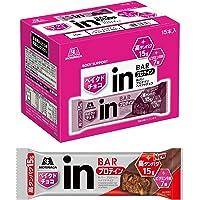 [Amazon限定ブランド]BODY SUPPORT W inバー プロテイン ベイクドチョコ (15本入×1箱) プロテインチョコバー 手で溶けないしっとり焼きチョコタイプ 高タンパク15g