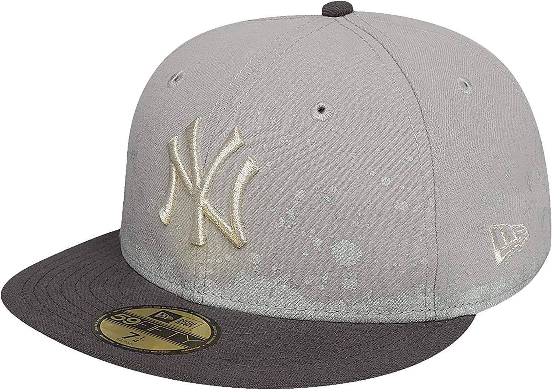 A NEW ERA Mujeres Gorras//Gorra Plana FL Pannel Splatter York Yankees 59Fifty