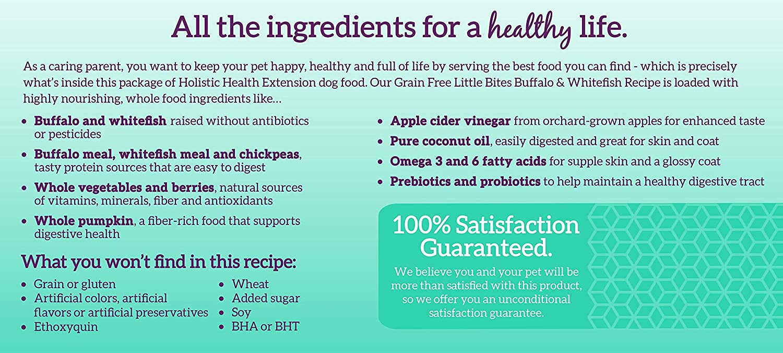 Amazon Com Health Extension Grain Free Buffalo Whitefish Recipe
