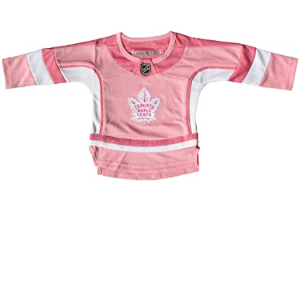 ebd9ab19de7 Toronto Maple Leafs Toddler Girls Pink Fashion Jersey - Size 4T ...