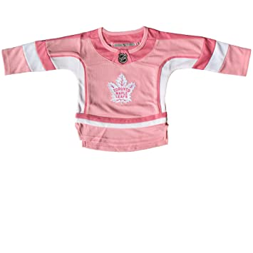 innovative design f8575 46acd Toronto Maple Leafs Toddler Girls Pink Fashion Jersey - Size ...