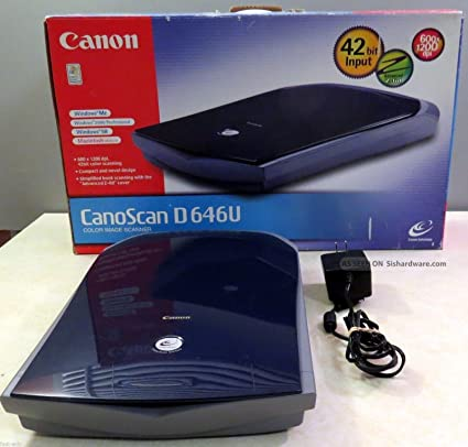CANOSCAN D646U EX SCANNER DRIVER FOR WINDOWS DOWNLOAD