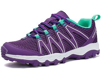 GNEDIAE Zapatillas de montaña cómodas, para Viajar, Acampada,Zapatos de Senderismo para Hombres Zapatos Bajos de Mujer Zapatos de Senderismo de Mujer: ...